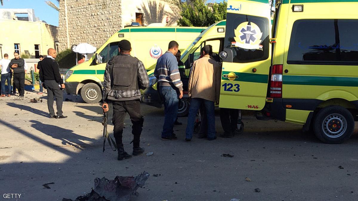 نقل المصابين فى سيناء-أرشيفية