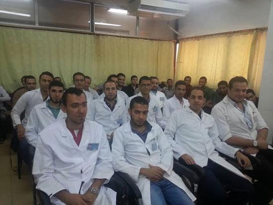 صورة اتحاد الأطباء العرب ينظم برنامج تدريبى مجانى لأطباء الأمتياز مجاناً