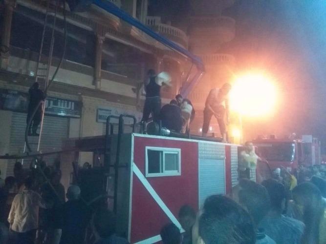 Photo of النيابة تكشف سبب حريق صيدلية فى السلام