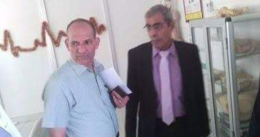 "Photo of وكيل ""صحة المنوفية"" يتفقد مستشفى الباجور العام ويوجه الشكر للعاملين بها"