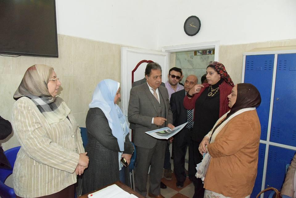 Photo of أول زيارة لوزير الصحة لمستشفي العباسية.. تطوير وإنشاءات جديدة