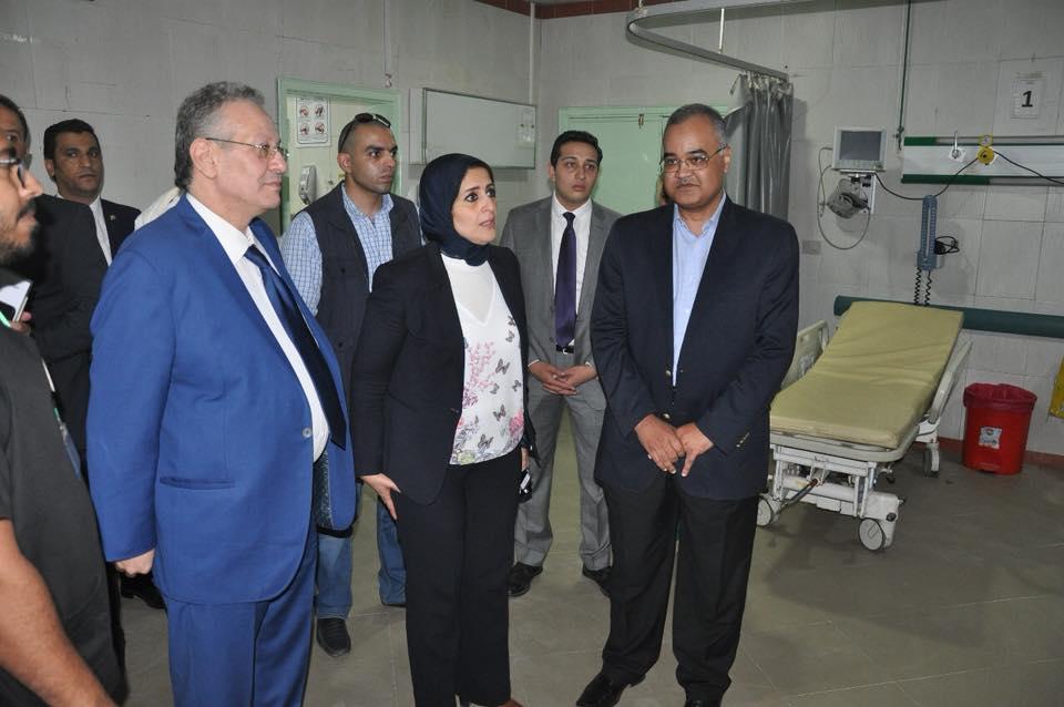 Photo of وزيرة الصحة تكشف خطة الطوارىء فى المستشفيات والإسعافاستعدادًا للعيد