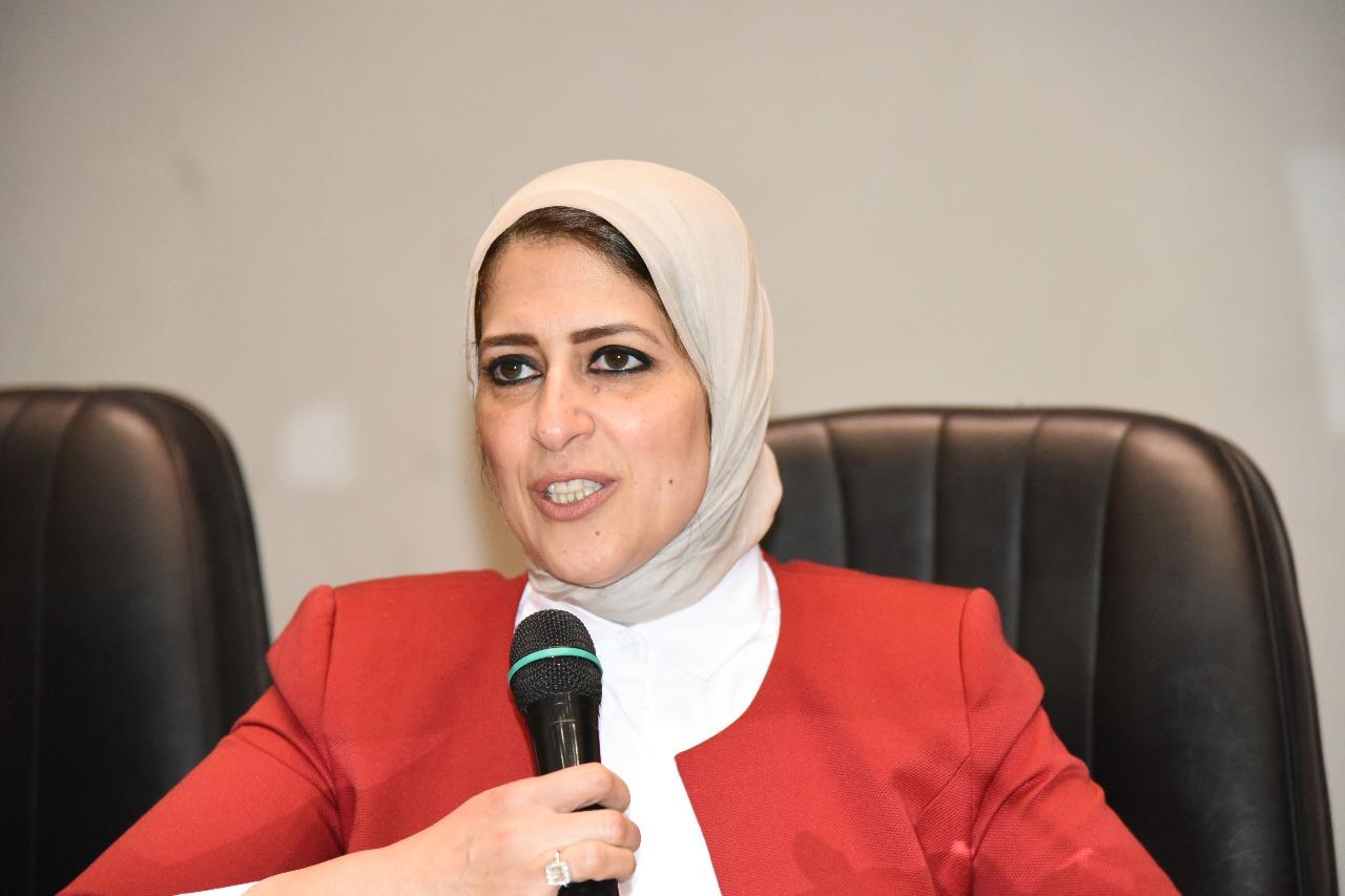 Photo of وزيرة الصحة للنواب: أطلقنا مشروع تحسين بيئة العمل