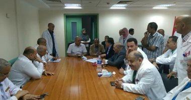 Photo of محافظ الغربية يتفقد مستشفى زفتى ويعقد اجتماعًا بالأطباء
