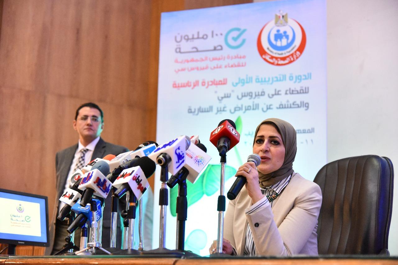 Photo of وزيرة الصة: فحص 4 مليون امرأة خلال مبادرة «صحة المرأة»