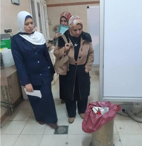 Photo of الكشف عن نفايات طبية خطرة داخل مستشفى رأس التين بالإسكندرية