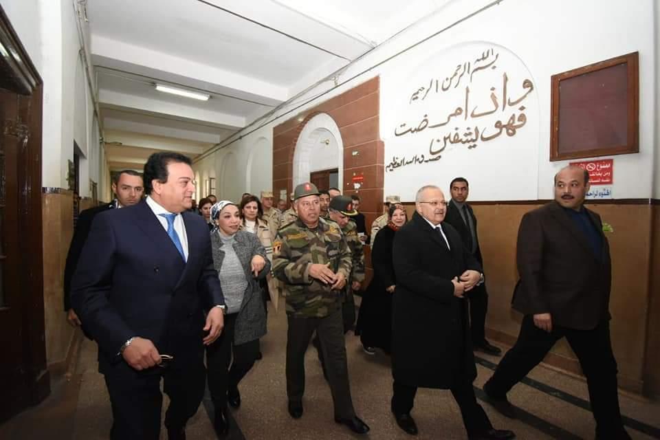 Photo of اسناد تطوير مستشفي «قصر العيني» للهيئة الهندسية للقوات المسلحة