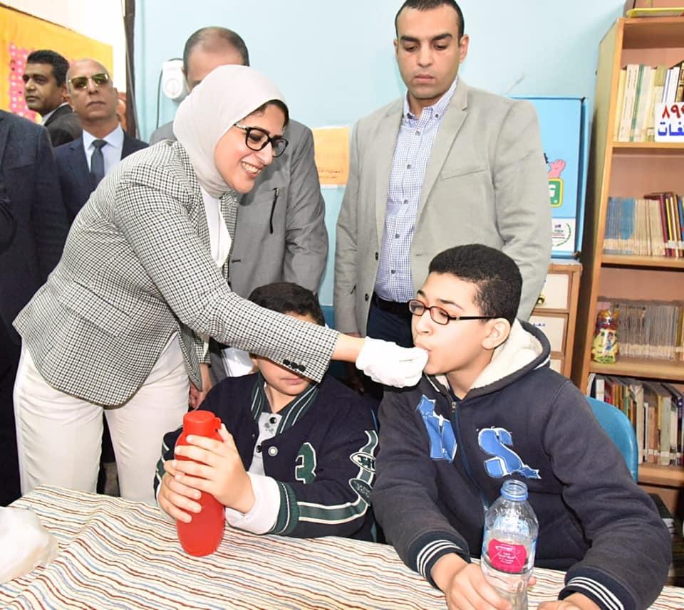 Photo of «الصحة»: تطعيم 11 مليون طالب ضد «الالتهاب السحائى والدفتيريا»