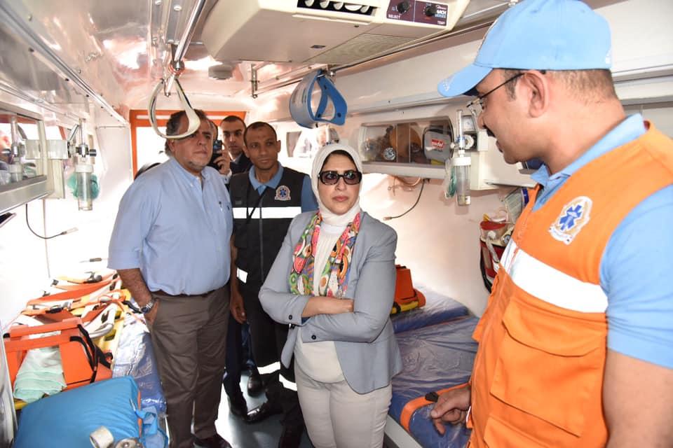 Photo of وزيرة الصحة تتفقد هيئة الإسعاف..وتوجه بتقليل زمن الاستجابة للمواطنين