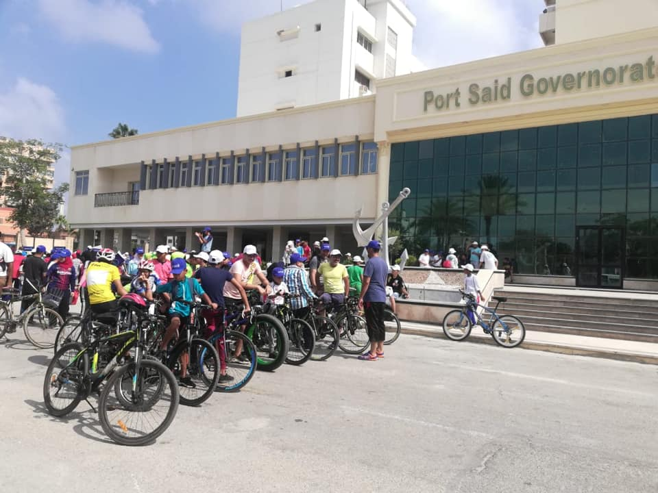 صورة وزيرة الصحة تتوجه لبورسعيد .. والوزارة تطلق ماراثون رياضى بالمحافظة (صور)