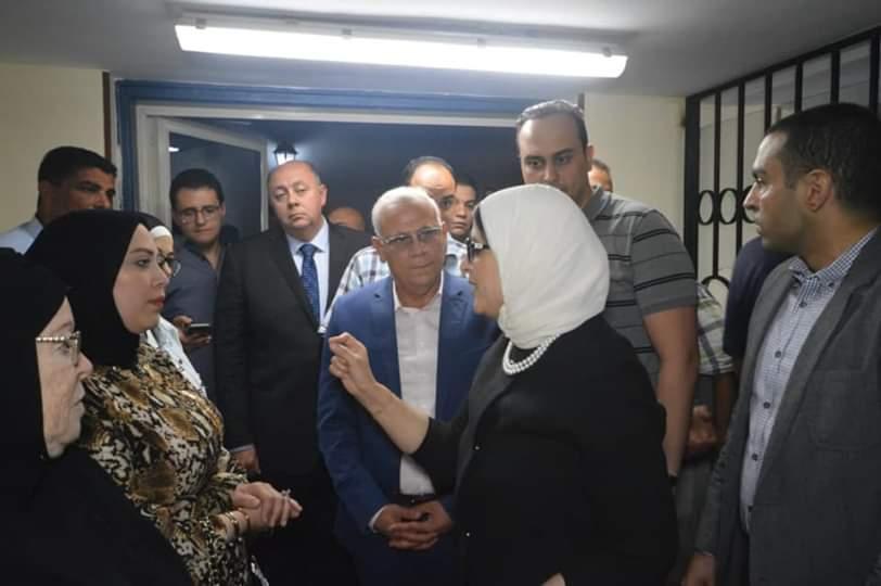 صورة الصحة: مستشفيات التأمين الصحى الجديد ببورسعيد أجرت 7144 عملية جراحية