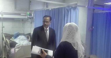 صورة إحالة أطباء استقبال مستشفى الصدر بدمياط للنيابة الإدارية