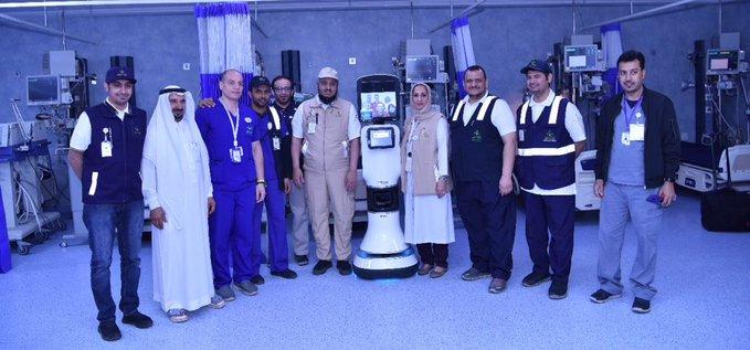 صورة «الروبوت الطبيب» .. السعودية تستخدمه للمرة الأولى للاستشارات الطبية