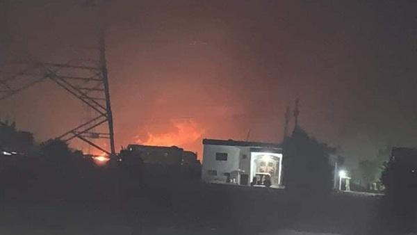 Photo of حريق هائل بسبب كسر خط بترول بالبحيرة .. خلف وفيات واصابات