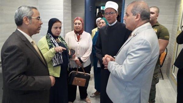 Photo of افتتاح سكن الأطباء بمستشفي الزهراء الجامعى التابع للأزهر.. غرف مكيفة