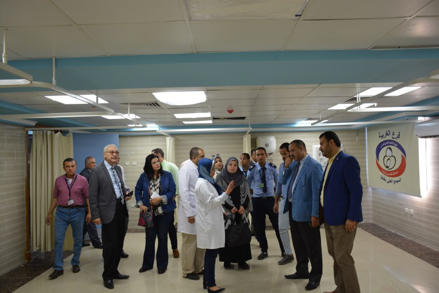 "Photo of وفد من ""التأمين الصحى"" يتفقد مستشفيات الهيئة بالغربية لمتابعة أعمال التطوير"