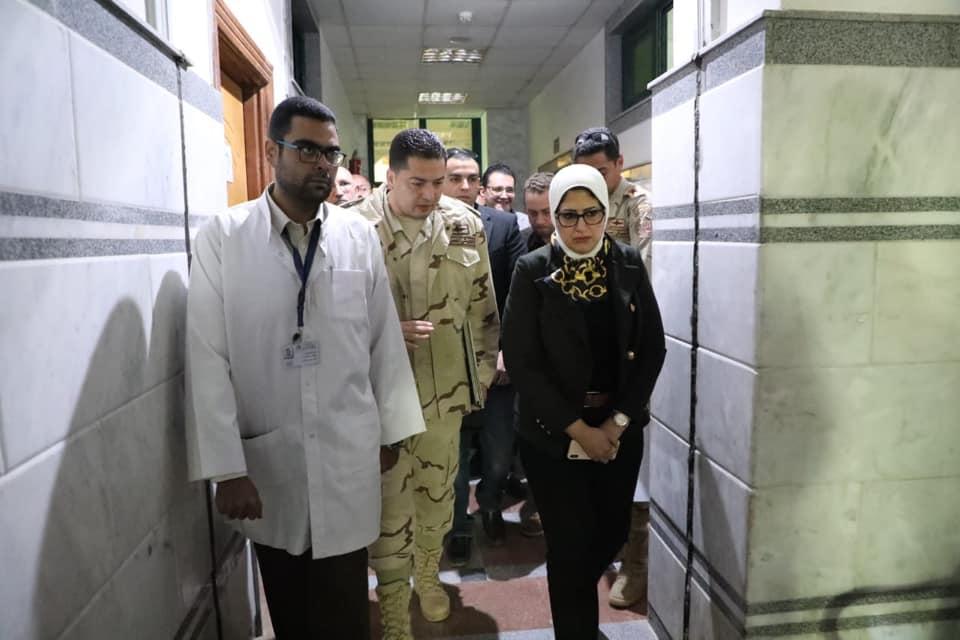 صورة وزيرة الصحة تبدأ جولة بـ «جنوب سيناء» لمتابعة تجهيزات «التأمين الصحي»