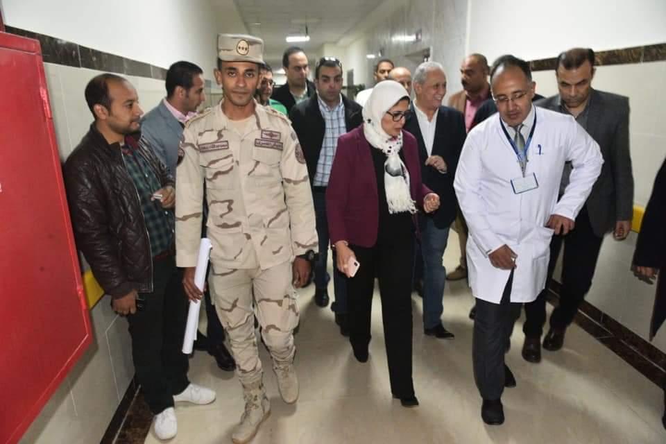 Photo of وزيرة الصحة: تشغيل مستشفى العديسات التخصصي للأطفال تجريبياً 18 يناير الجاري