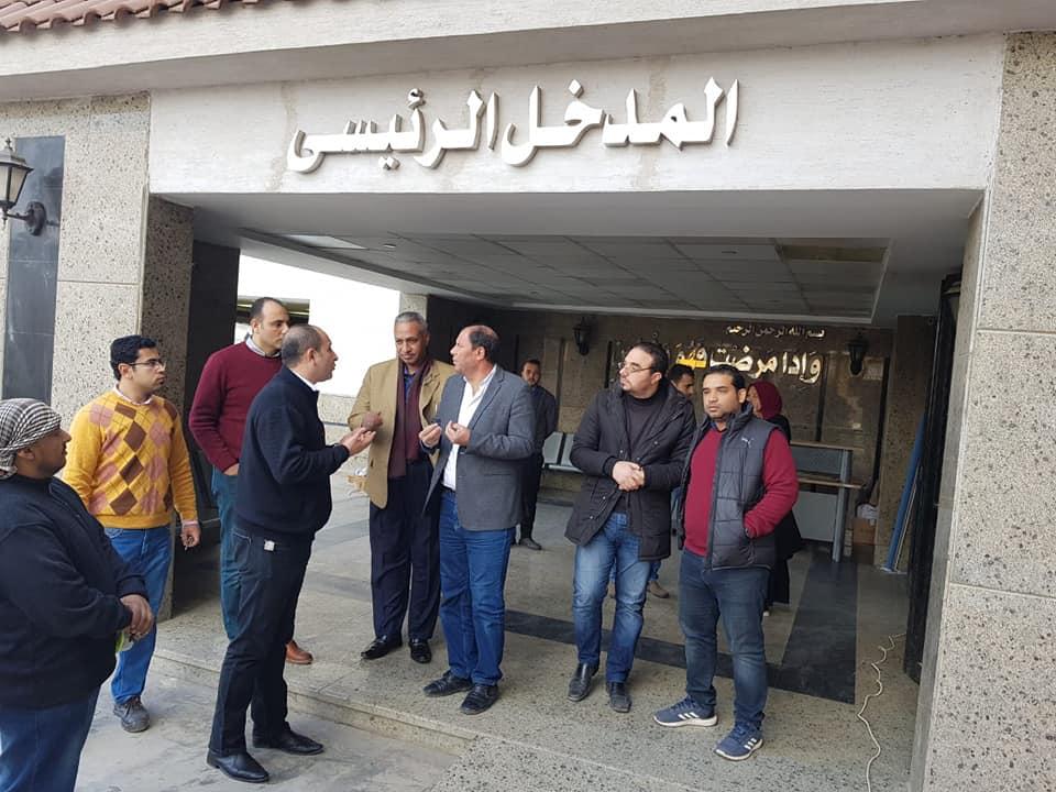 "Photo of لجنة تفتيشية على ""حميات بنها"" لمتابعة سير العمل والتصدي لفيروس كورونا"