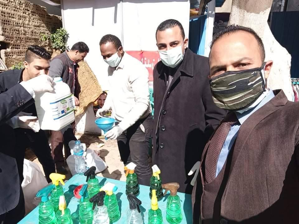 Photo of كريم البهنساوي يقود شباب المحامين لتعقيم النقابة من كورونا