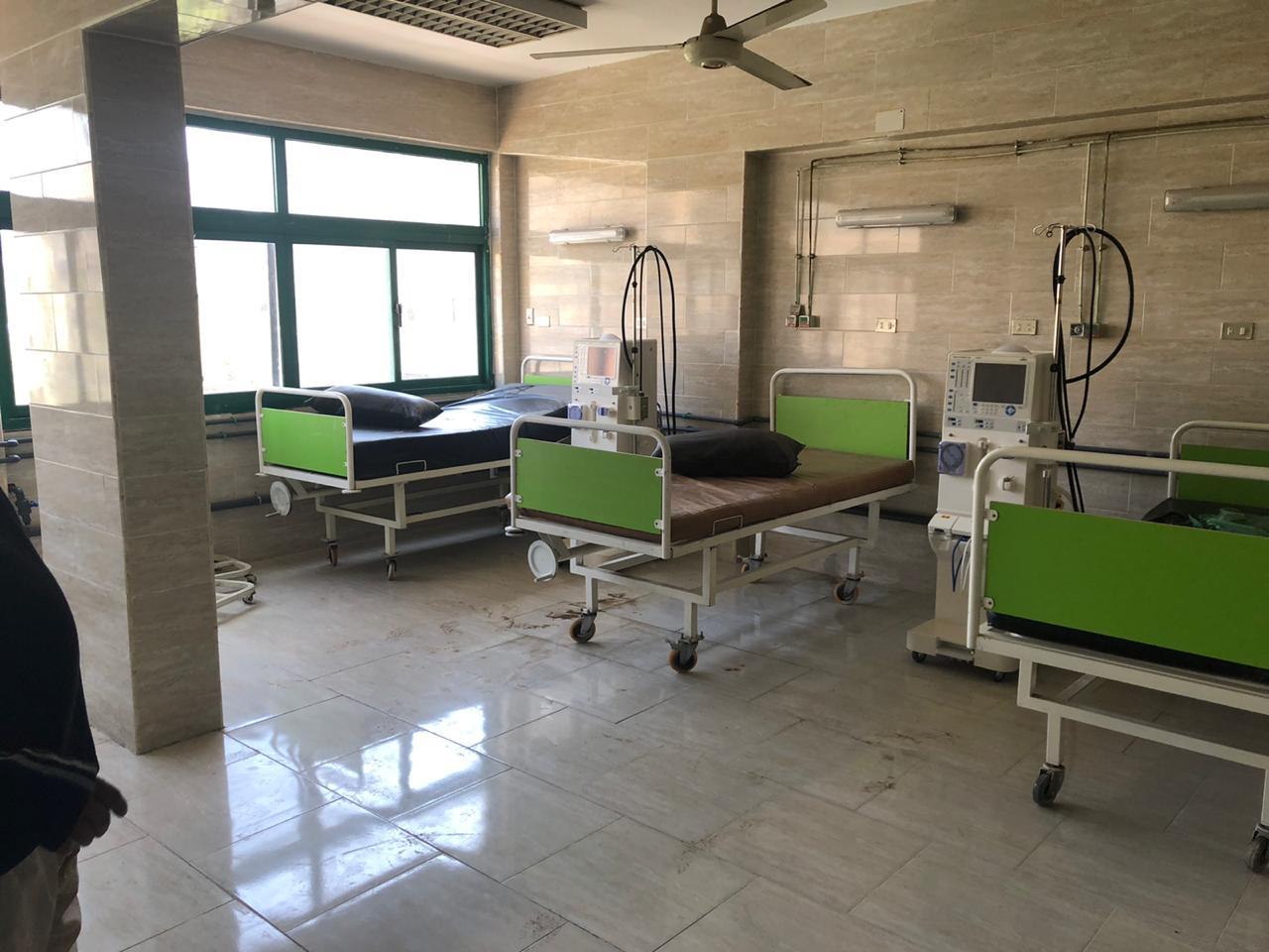 """Photo of """"المستشفيات التعليمية"""" تفتتح وحدة الغسيل الكلوي بمعهد الكلى بالمطرية (صور)"""
