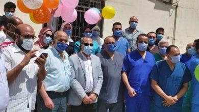 """Photo of قيادات """"صحة الدقهلية"""" تحتفل بعيد الفطر بمستشفى عزل تمي الأمديد"""