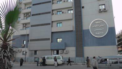 Photo of خروج 15 مصابًا من مستشفى دمنهور التعليمي بعد تعافيهم من «كورونا»