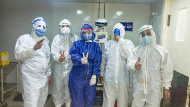 Photo of مستشفى المنيرة تجري عملية ولادة قيصرية لحامل بتوأم مصابة بكورونا