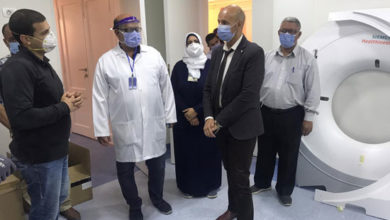 Photo of دعم مستشفى بلبيس بالشرقية بجهاز أشعة مقطعية وحضانات