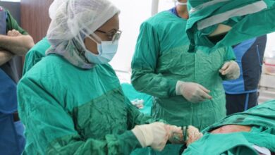 """صورة الرعاية الصحية: نجاح عملية """"قسطرة تافي"""" لمُسِن بمستشفى النصر التخصصي ببورسعيد"""