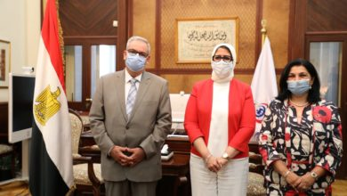 Photo of وزيرة الصحة تهنئ الدكتورة نعيمة القصير لتوليها مهام منصب ممثل الصحة العالمية