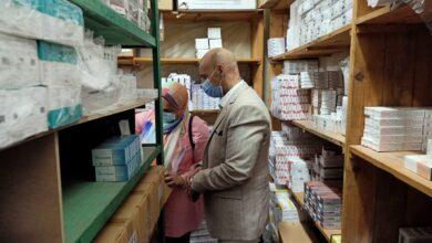 صورة ضبط 3500 قرص أدوية مخالفة فى حملة على مخازن الأدوية بالزقازيق