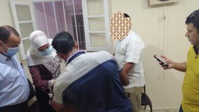 صورة ضبط طالب انتحل صفة طبيب وفتح عيادة في كفر الشيخ