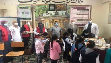 صورة صحة الشرقية: فحص 10540 طالبًا فى أول أيام مبادرة علاج أمراض سوء التغذية