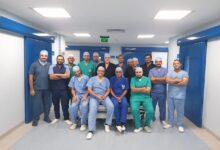 صورة الفريق الطائر لجراحات القلب بالمستشفيات التعليمية يجرى جراحتين تغيير صمام ميترالى بالمنظار
