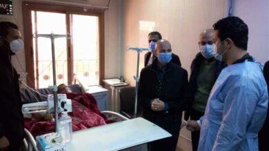 صورة وكيل «صحة الشرقية» يزور مستشفى الحسينية لمتابعة اجراءات مواجهة كورونا