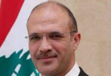صورة وزير الصحة اللبنانى: نقدر دعم مصر المستمر لصالح بيروت والشعب