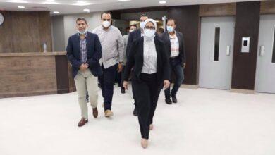 صورة الدكتور محمد اللبان مديرا عاما لمستشفى دمياط العام