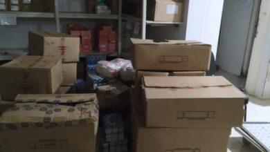 صورة ضبط 11 ألف قرص أدوية مهربة بمخزن غير مرخص وسط الإسكندرية