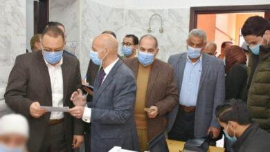 صورة صحة الشرقية: تطعيم 280 من كبار السن ضد كورونا في اليوم الأول