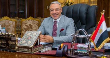 """صورة رئيس جامعة طنطا: حل مشكلة رواتب أطباء الامتياز بـ""""طب الأسنان"""""""