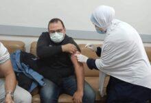 صورة صحة دمياط: تلقى الفرق الطبية بالمستشفيات العامة والمركزية للقاح كورونا