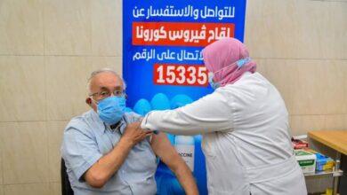 صورة مدير مستشفى بني سويف: 30 مواطنا حصلوا على لقاح كورونا