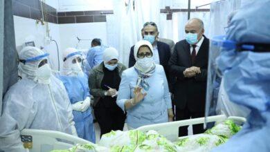 صورة وزيرة الصحة تؤكد استقرار معدلات الإصابة بفيروس كورونا بمحافظة قنا