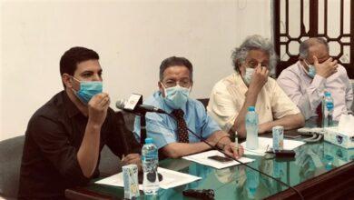 صورة في مؤتمر رسمي .. النقابة تناقش المشكلات المستحدثة لأعضائها والمنظومة الصحية (تفاصيل)