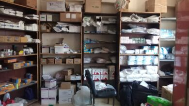 صورة ضبط 2000 مخالفة دوائية بمستشفى خاص بدون ترخيص بالشرقية
