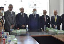 صورة افتتاح وحدة العناية المركزة المجهزة من بنك الشفاء المصرى بجامعة المنيا