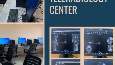 صورة افتتاح مركز Teleradiology (قراءة الأشعة عن بعد) بهيئة المستشفيات التعليمية